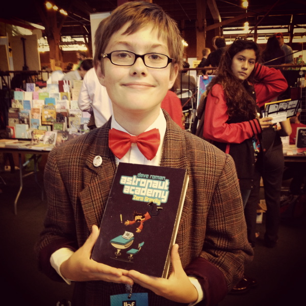 Kid Doctor Who cosplay