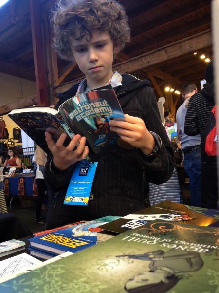 Astronaut Academy reader