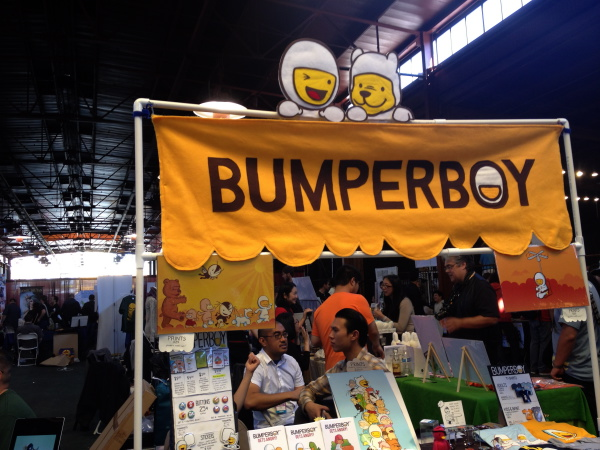 Bumper Boy booth