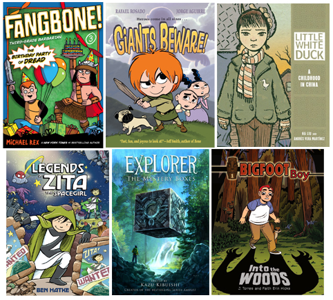 Elementary Graphic Novels