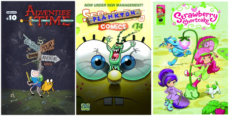 Kids Comics Licensed