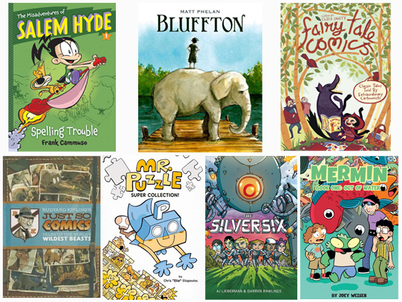 Graphic Novels for Elementary Readers