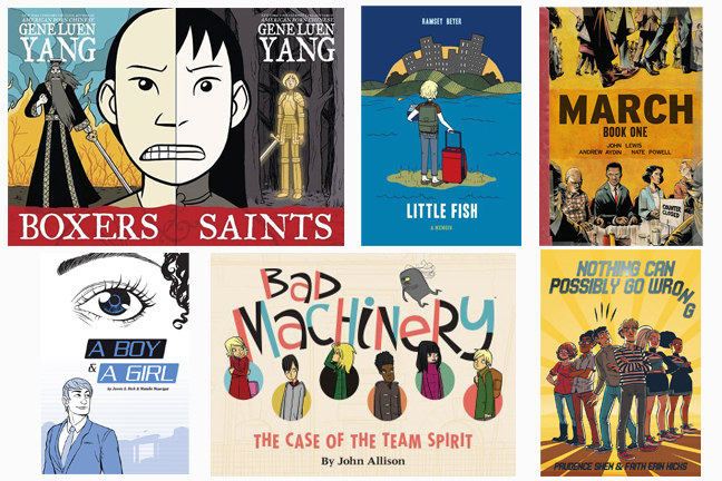 Graphic Novels for High School