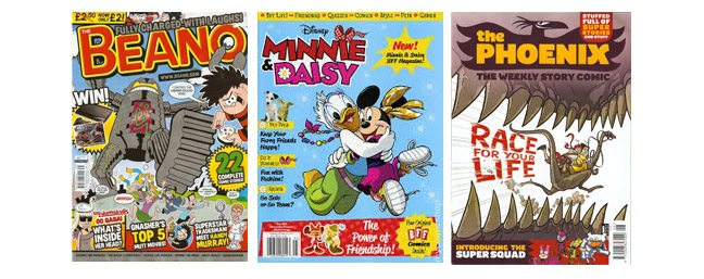 Comics Magazines for kids