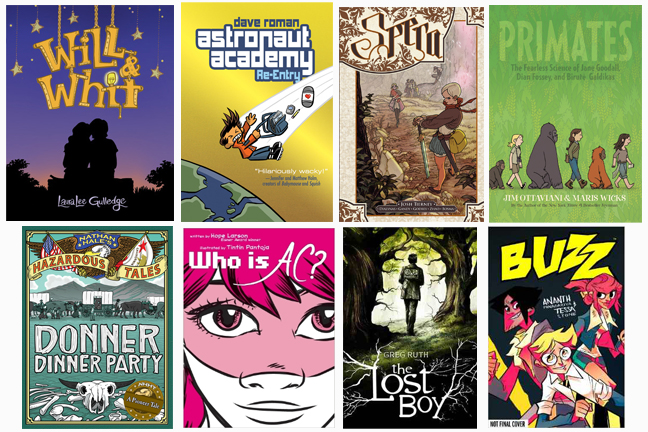 Graphic Novels for Middle Grade