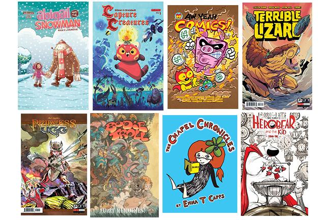 creator owed kids comics