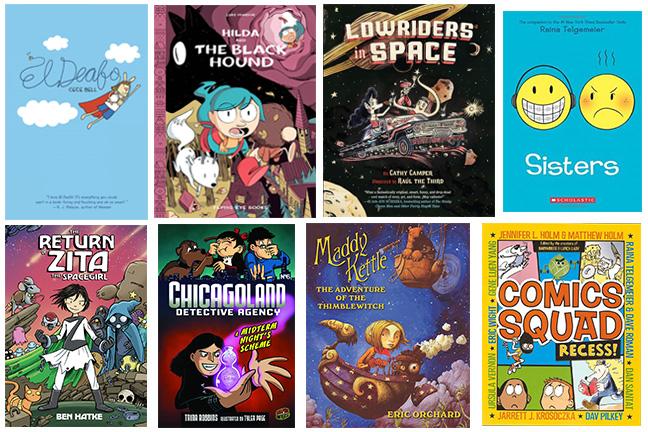 elementary level graphic novels
