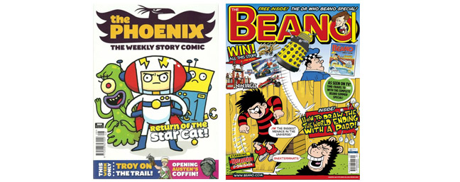 kids comics magazines