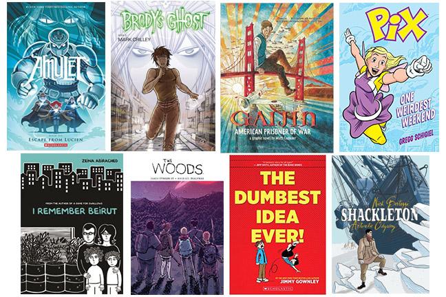 middle grade graphic novels