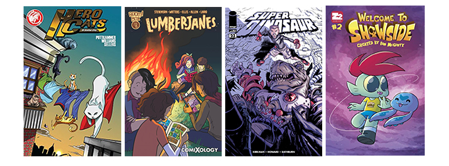 Creator owned kids comics 2015