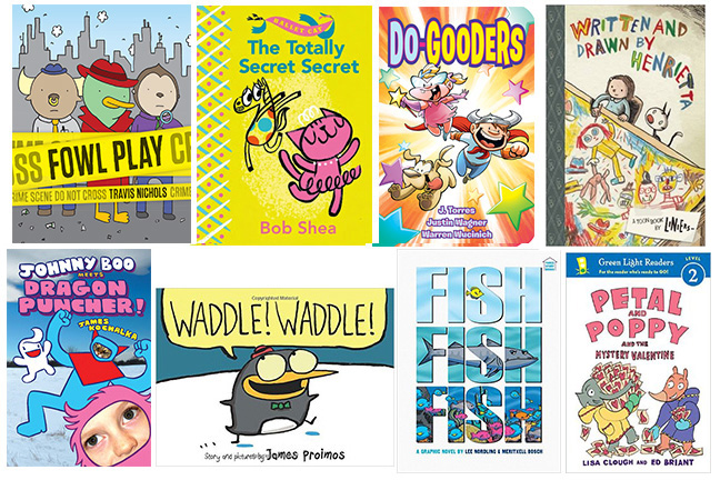 Kids Comics Early Readers 2015