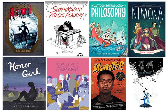 High School Graphic Novels 2015