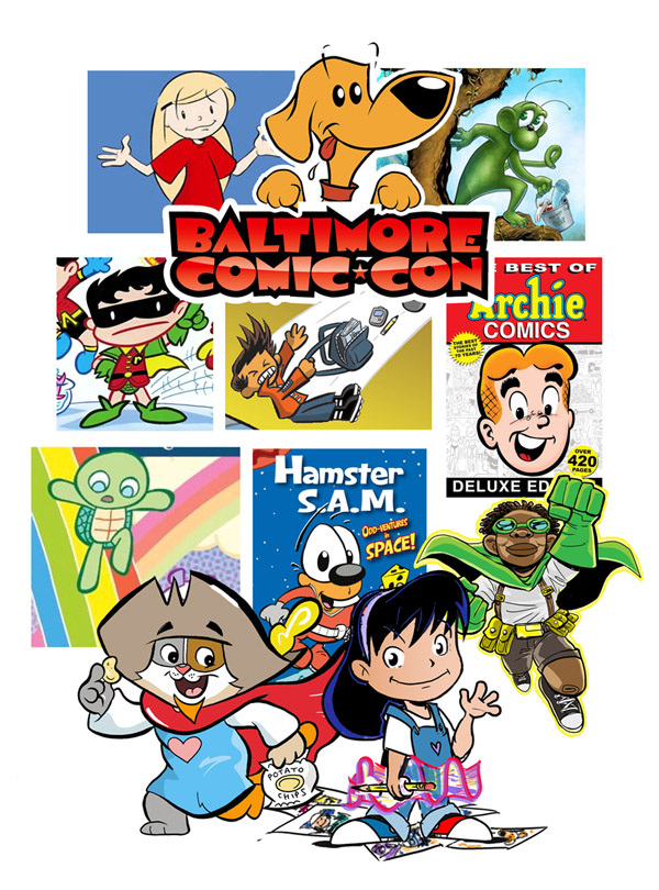 Baltimore Comic Con Kids Area