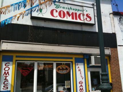 Grasshopper Comics store