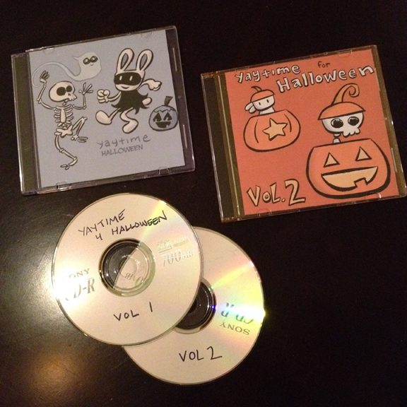 Halloween Mix Cds