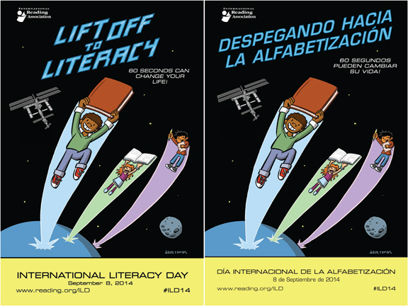 International Literacy Day poster