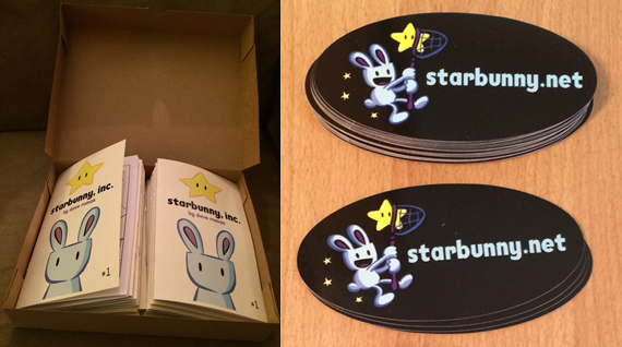 Starbunny Inc. box & stickers