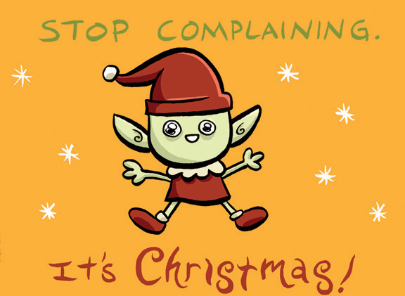 christmas complain