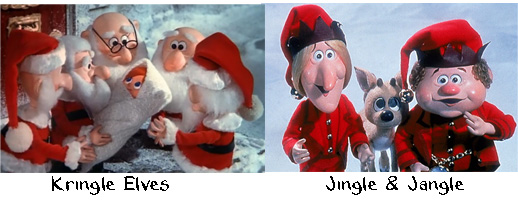 Kringle Elves vs. Jingle and Jangle