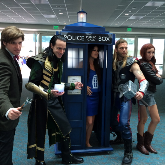 Doctor Who Loki Thor cosplay
