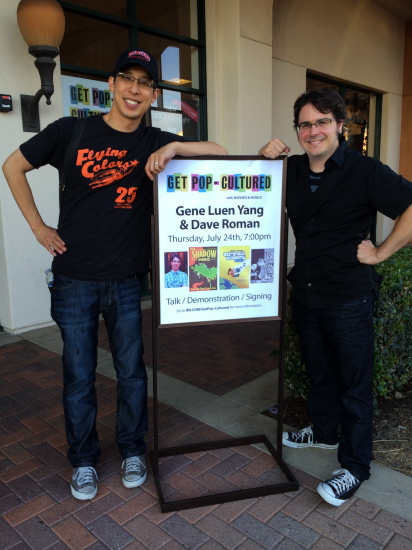 Gene Yang and Dave Roman