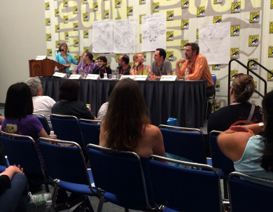 Hero Panel at SDCC