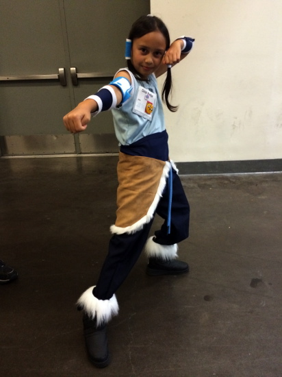 Kid Legend of Korra cosplay