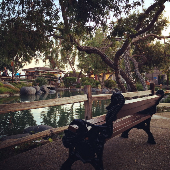 Seaport Village bench