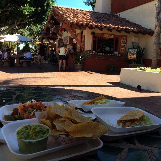 Seaport Village tacos