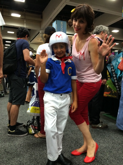 Speed Racer & Trixie!