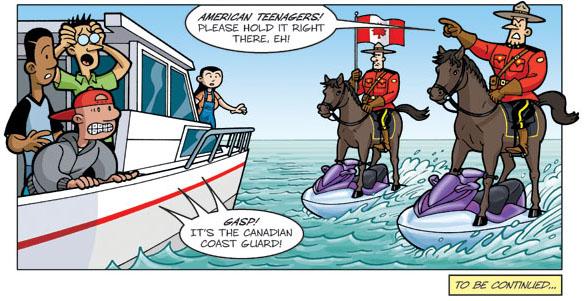 Teen Boat Canada