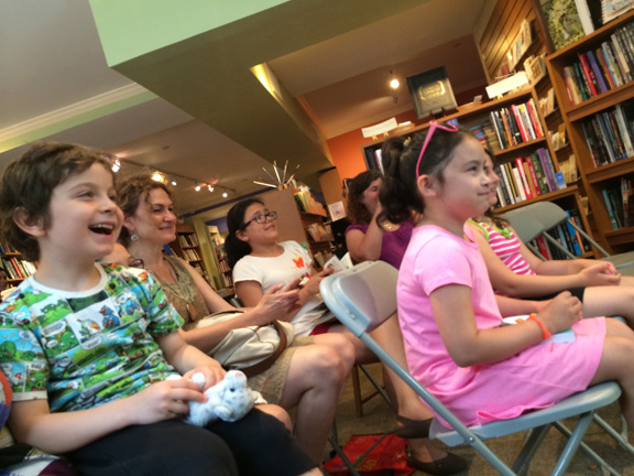 Astoria Bookshop crowd