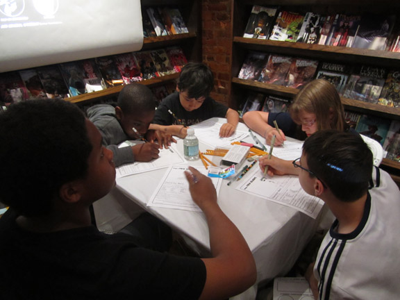 Bergen Street Comics kids drawing