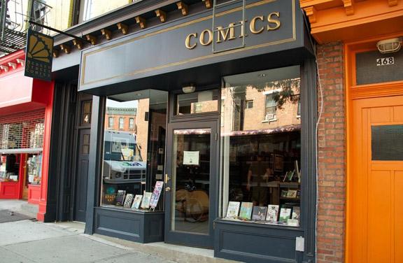 Bergen Street Comics exterior