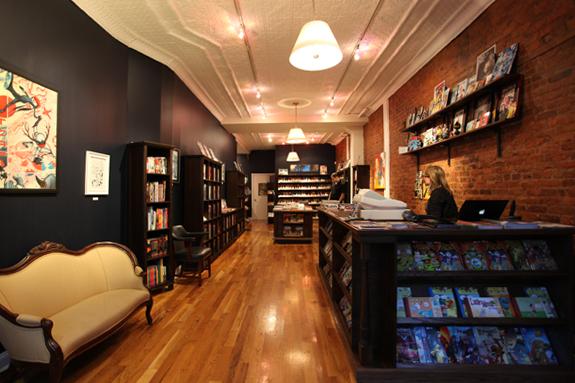 Bergen Street comics interior