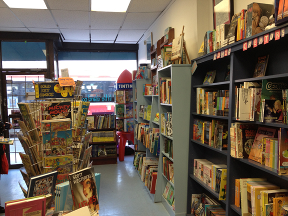 Little Island Comics store
