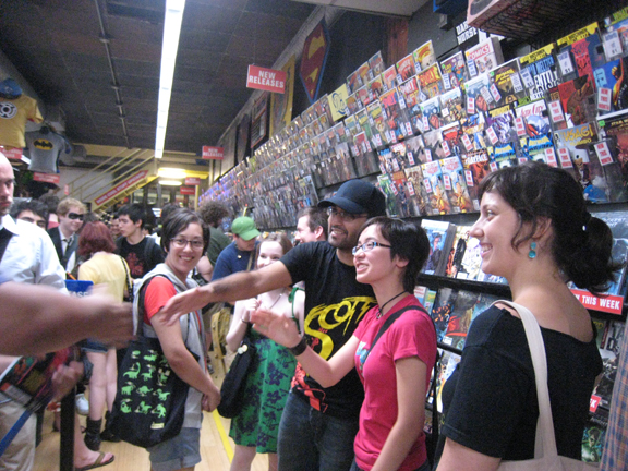 Midtown Comics meetup