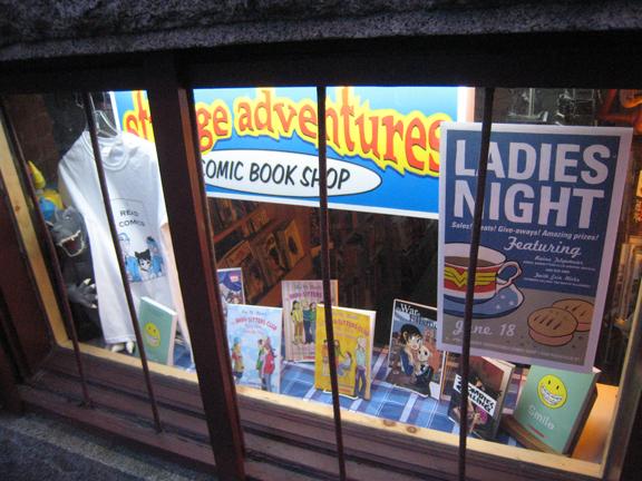 Strange Adventures store