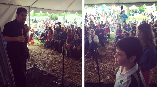 Gaithersburg Book Fest crowd