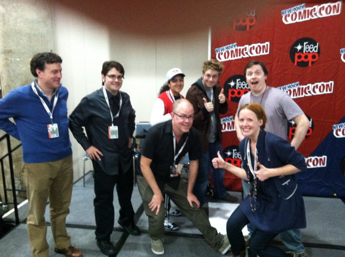 NYCC Comics Quickfire cast