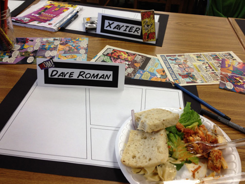 Graphic Novel Lunch