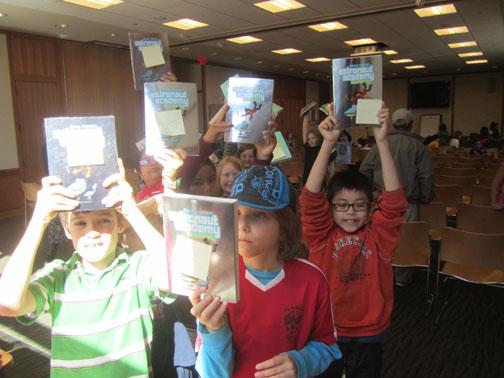 astronaut academy booksigning