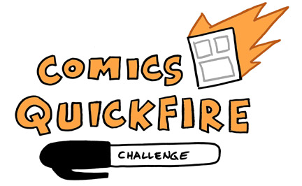Comics Quickfire logo